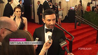 Givenchy's Riccardo Tisci Met Gala Interview | Video