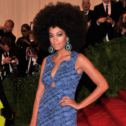 Solange Knowles on Met Gala 2013 Red Carpet