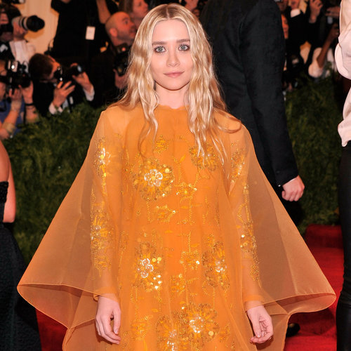Mary-Kate and Ashely Olsen Both in Vintage at 2013 Met Gala