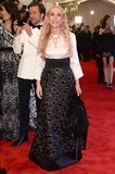 Franca Sozzani at the 2013 Met Gala. Source: Joe Schildhorn/BFAnyc.com