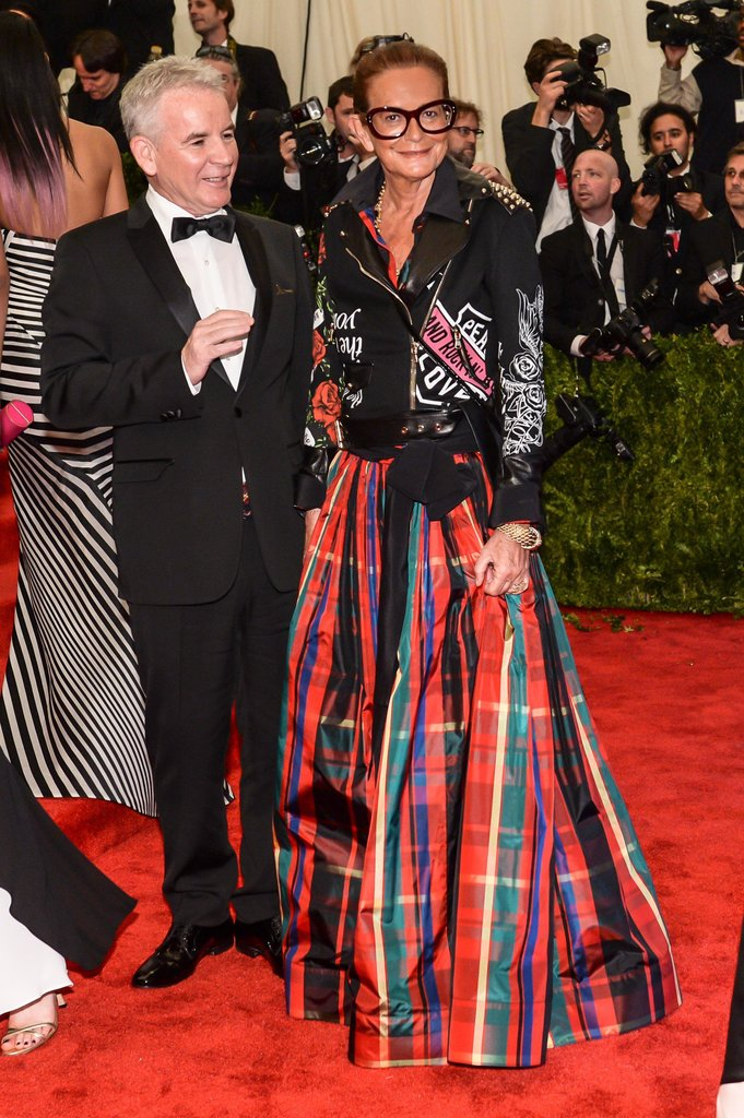 Massimo Ferretti and Rosella Jardini at the 2013 Met Gala. Source: Joe Schildhorn/BFAnyc.com