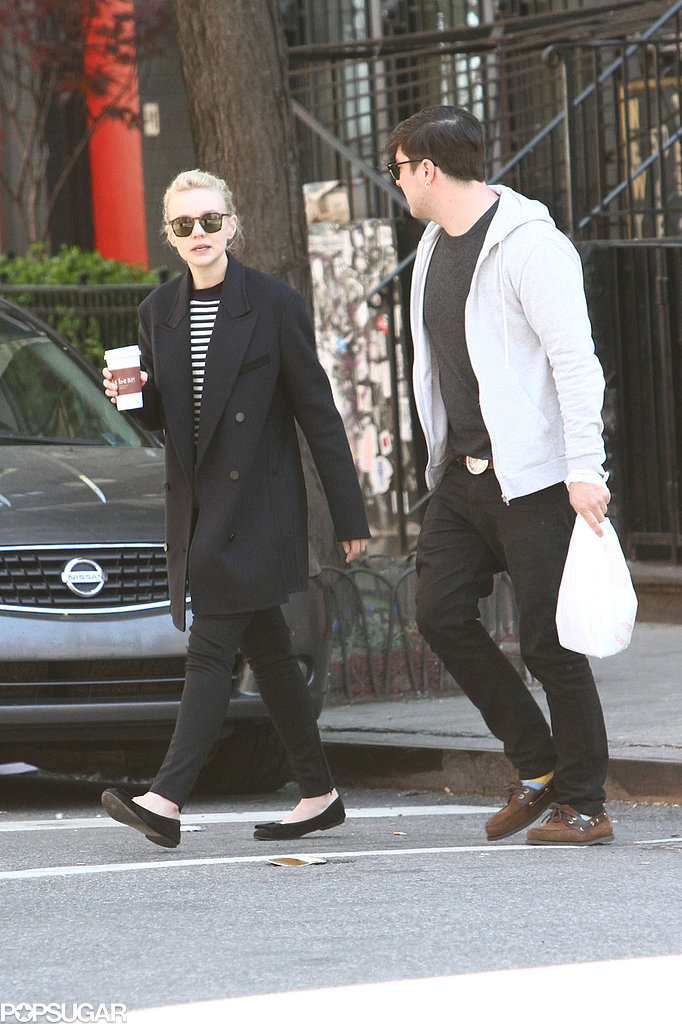 Carey Mulligan and Marcus Mumford strolled in NYC.