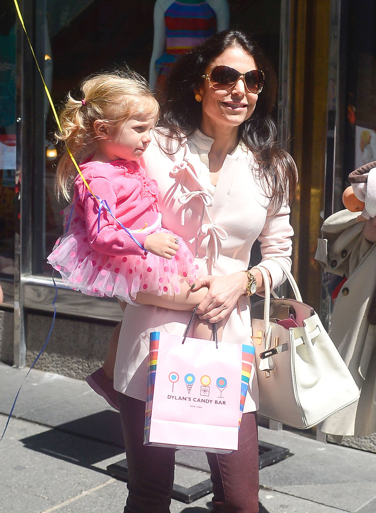 Bethenny Frankel celebrated daughter Bryn Hoppy's third birthday in NYC.