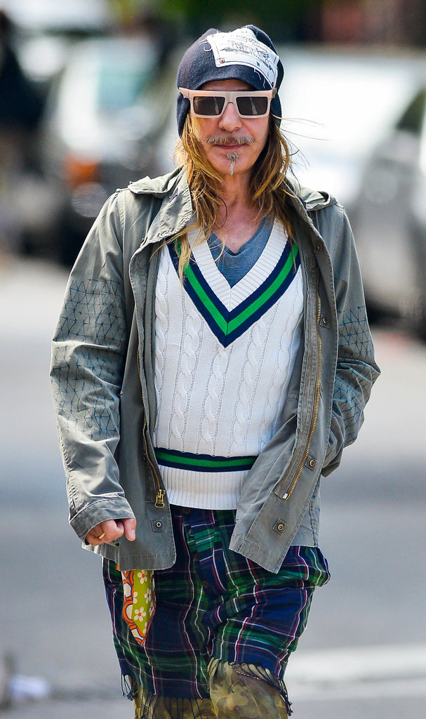 John Galliano was spotted in New York City.