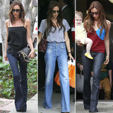 Behold Victoria Beckham's Best Wide-Leg Denim Moments