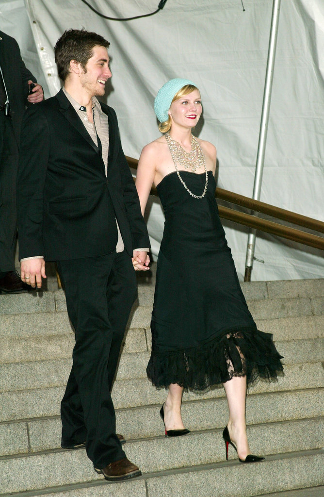 Jake Gyllenhaal and Kirsten Dunst in 2003