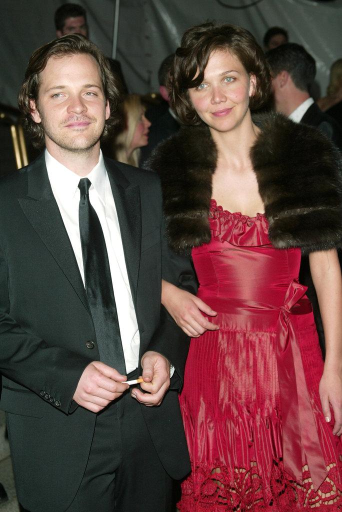 Peter Sarsgaard and Maggie Gyllenhaal in 2003