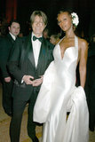 David Bowie and Iman in 2003