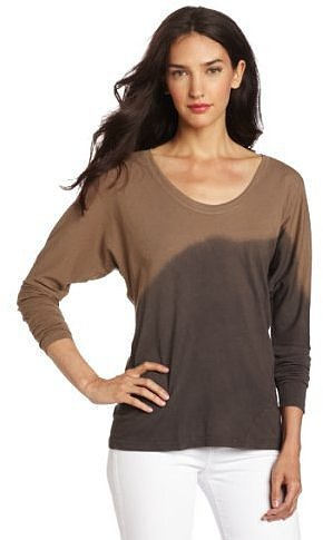 C&C California Women's Long Sleeve Dolman Twist Tee