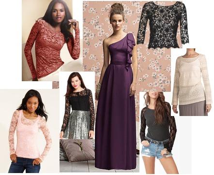 Delia's, Victoria's Secret, Rachel Roy, Forever 21