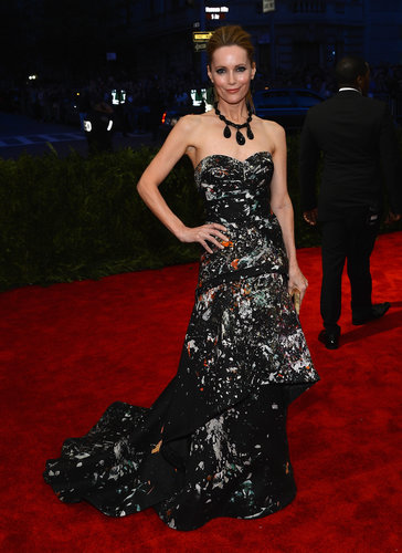 Leslie Mann at the Met Gala 2013.
