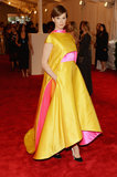 Elettra Wiedemann wore custom Prabal Gurung at the 2013 Met Gala.