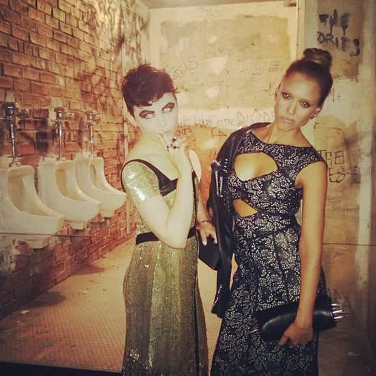 Ginnifer Goodwin and Jessica Alba tried to prove that good girls can be bad too at the Met Gala. Source: Instagram user jessicaalba