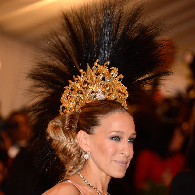 Met Gala Punk Beauty Looks