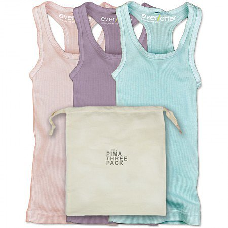 The Pima Racerback Three Pack ($64)