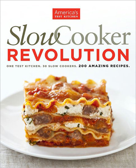 America's Test Kitchen: Slow Cooker Revolution