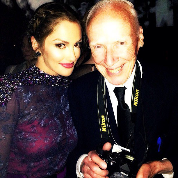 Minka Kelly said she was honoured to meet photographer Billy Cunningham at the Met Gala. Source: Instagram user minkak