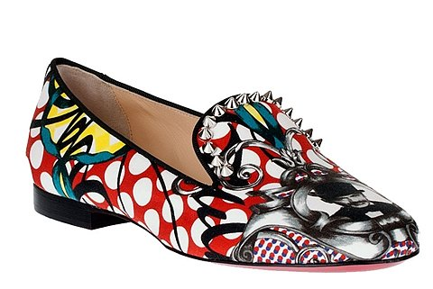 Between the comfort and cool factor, we guarantee that your feet would be super happy with these Christian Louboutin spiked printed loafers ($650).
