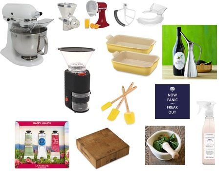 KitchenAid, Bodum, Le Creuset, Williams-Sonoma