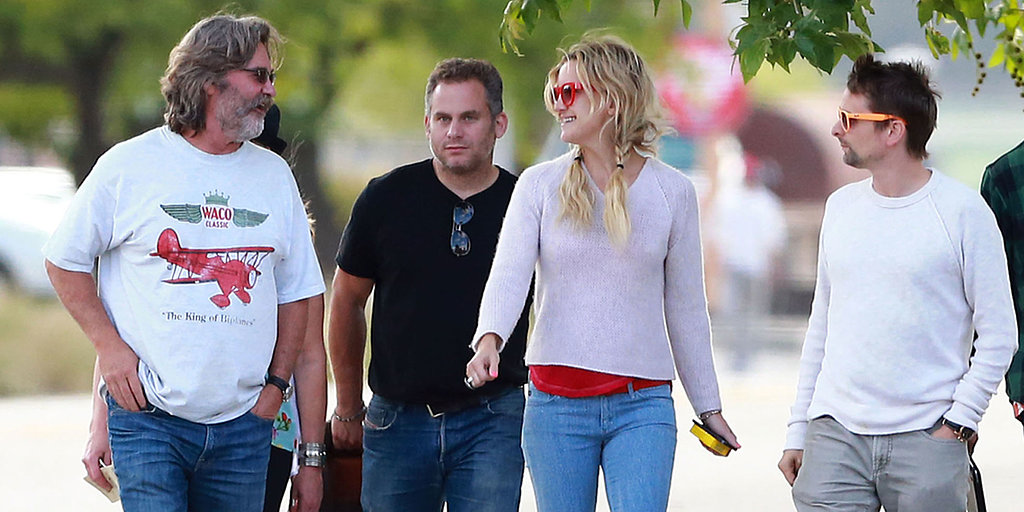 Kate Hudson Takes Her Guys Wine Tasting