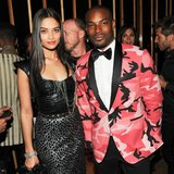 Shanina Shaik and Tyson Beckford. Source: Neil Rasmus/BFAnyc.com