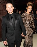 Casper Smart held Jennifer Lopez's hand inside the Met Gala in NYC.  Source: Billy Farrell/BFANYC.com