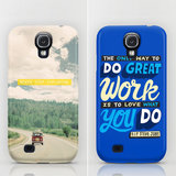 Playful Typographic Cases to Protect Your Galaxy S4