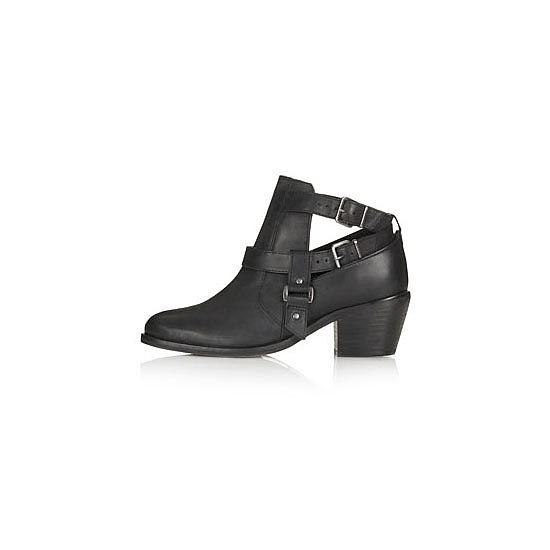 I didn't think I'd be one to get into the cut-out boot trend, but our resident beauty and health guru Alison has a pair and they look fantastic. I saw a really cool Alexander Wang pair but would probably dip my toes into the trend with a chain store version first. — Jess, entertainment editor Boots, approx $106, Topshop
