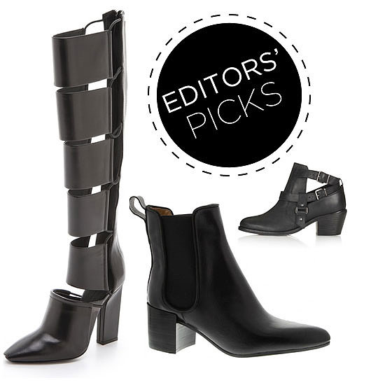 Editors' Picks: The Very Best Black Boots