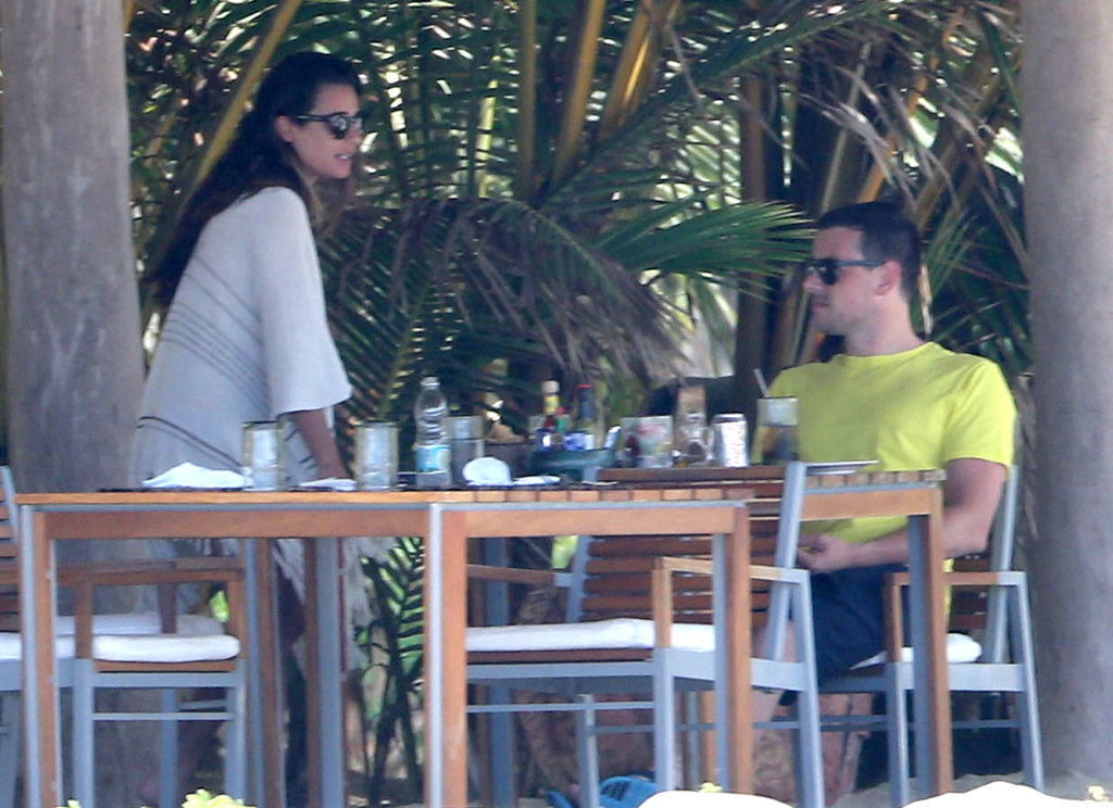 Lea Michele and her boyfriend, Cory Monteith, relaxed during a getaway to Mexico in May 2013.