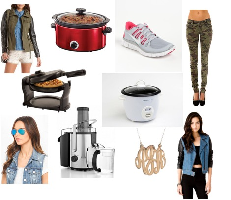 Nike, Charlotte Russe, Tripp, Forever 21, Ray-Ban