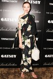 Miranda Kerr made a statement at an NYC screening of The Great Gatsby in bold florals but kept the rest of her look understated with ankle-strap nude sandals and a white tote. Source: Billy Farrell/Matteo Prandoni/BFAnyc.com
