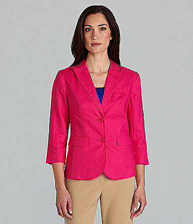 Investments Notch-Collar Jacket