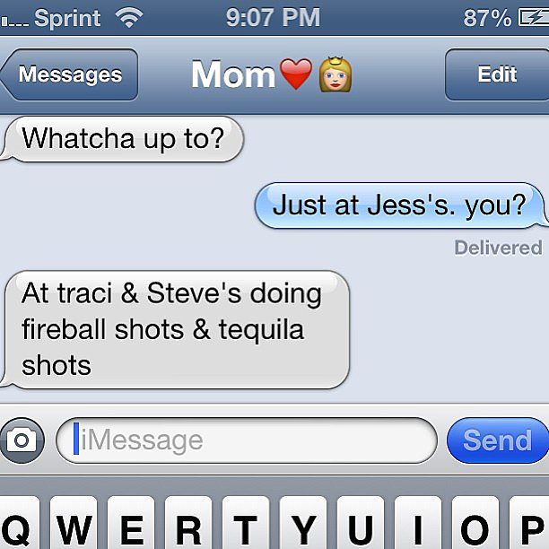 Texts From Mom