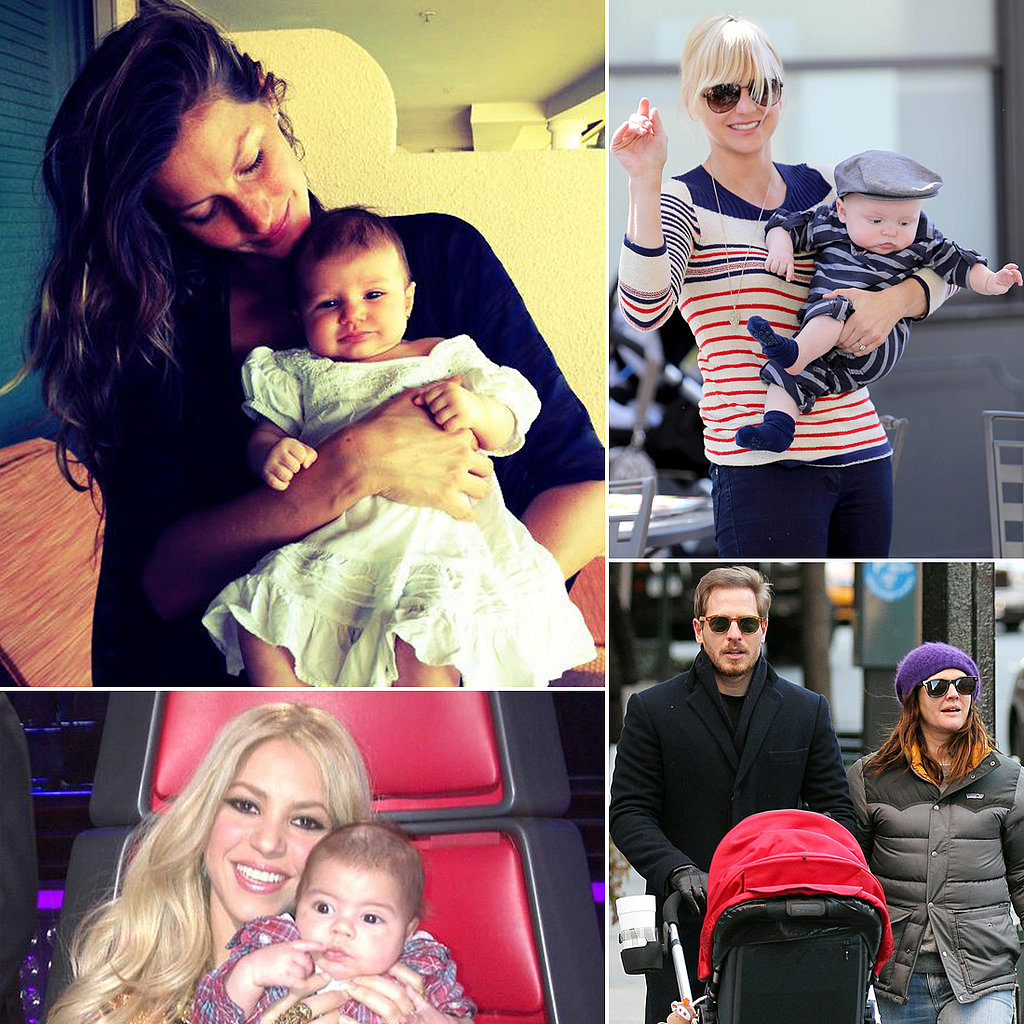 Famous Moms With Something Special to Celebrate on Mother's Day