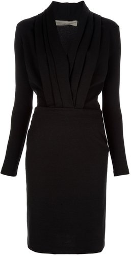 Stella Mccartney structure slim fit dress