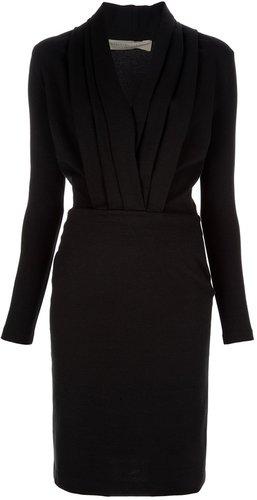 Stella Mccartney structure slim fit dress
