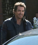 Jon Tenney filmed scenes for the TV show King & Maxwell in Vancouver on Wednesday.