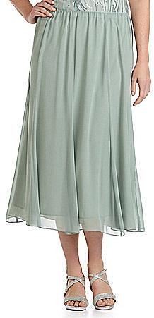 Alex Evenings Woman Chiffon Skirt