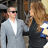 Jennifer Lopez and Casper Smart Kiss in NYC | Pictures