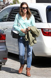Jennifer Garner Spends the Day With Her Karate Kid