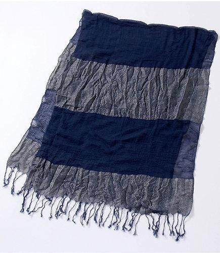 [キノウセイファッションアイテム]【UV加工】綿混ストール