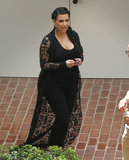 Kim Kardashian viewed a home in LA on Friday.