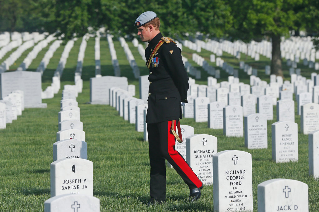 Soldier to Soldier: Prince Harry Pays His Respects to American Vets