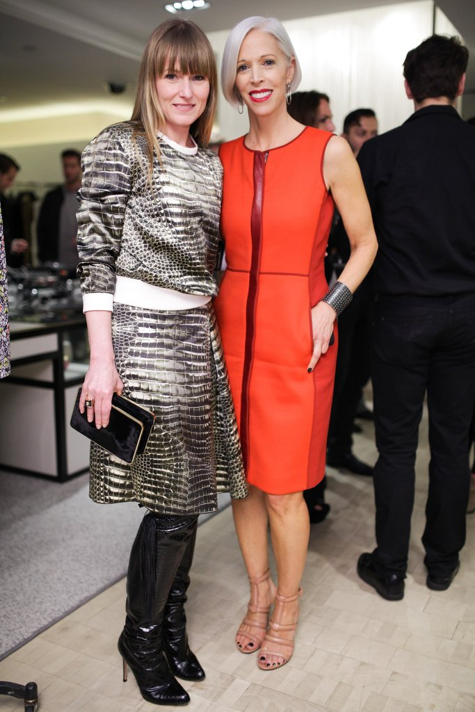 Amy Astley and Linda Fargo at Reed Krakoff and Bergdorf Goodman's celebration of the Women in Art book release in New York. Source: Angela Pham/BFAnyc.com