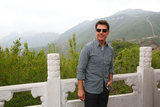 Tom Cruise visited the Great Wall of China.
