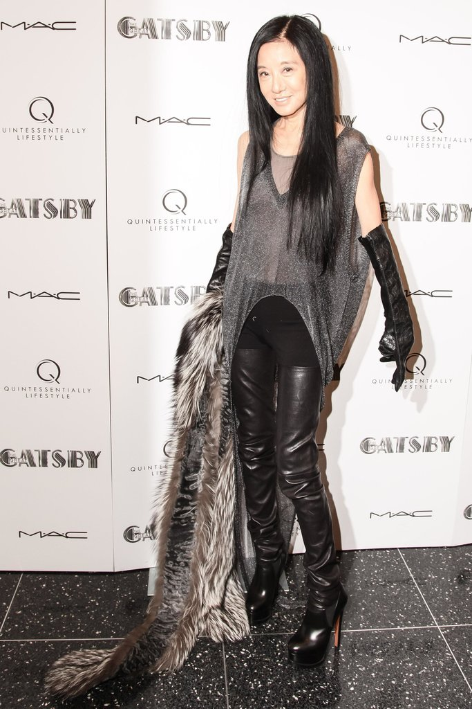 Vera Wang at The Great Gatsby's private screening in New York. Source: Matteo Prandoni/BFAnyc.com