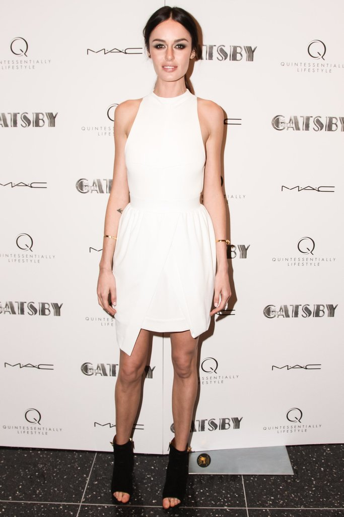 Nicole Trunfio at The Great Gatsby's private screening in New York. Source: Matteo Prandoni/BFAnyc.com