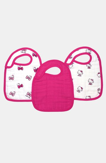 Aden + Anais Hello Kitty Snap Bibs