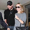 John Krasinski and Emily Blunt at LAX | Pictures